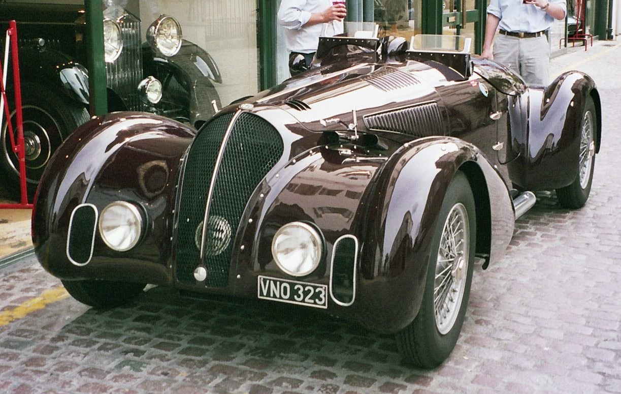 "Alfa Romeo 6C 2300 Touring, 1934-37. A car that seems to say to you ""drive me if you dare""."