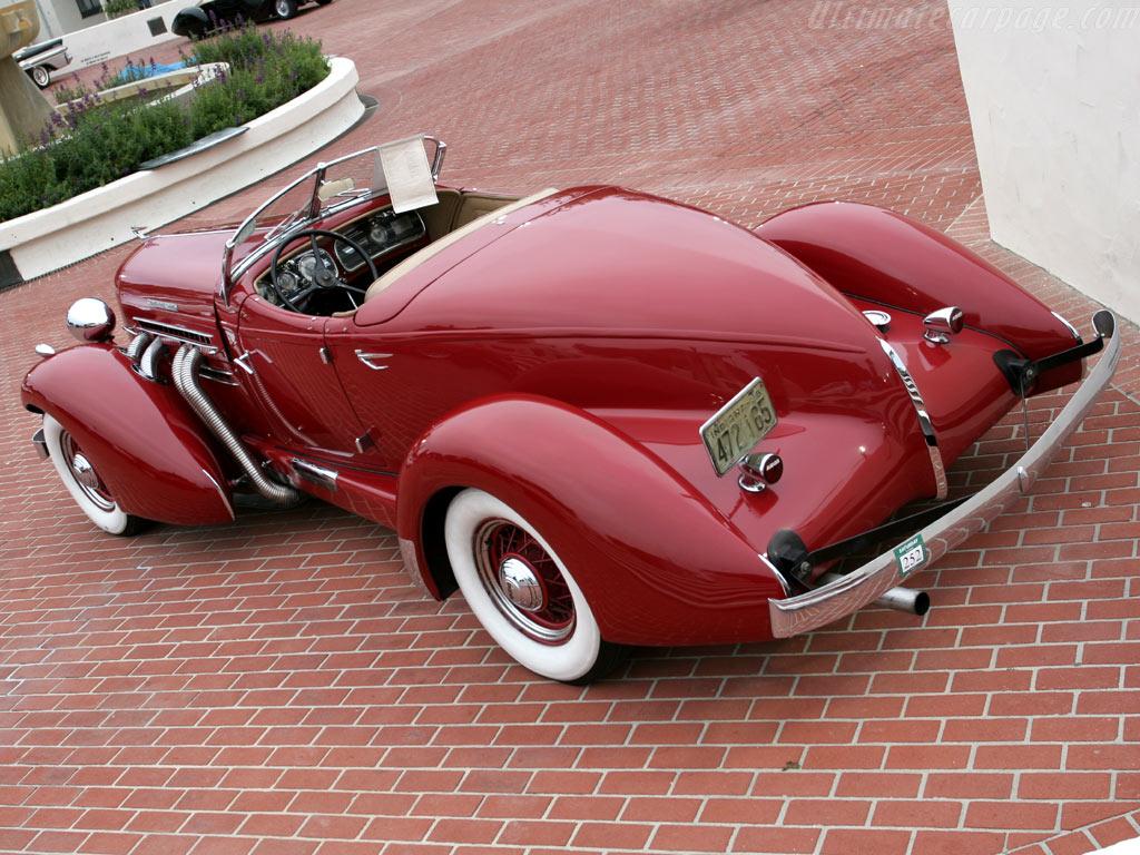 Auburn 851 SC Speedster, 1934-37