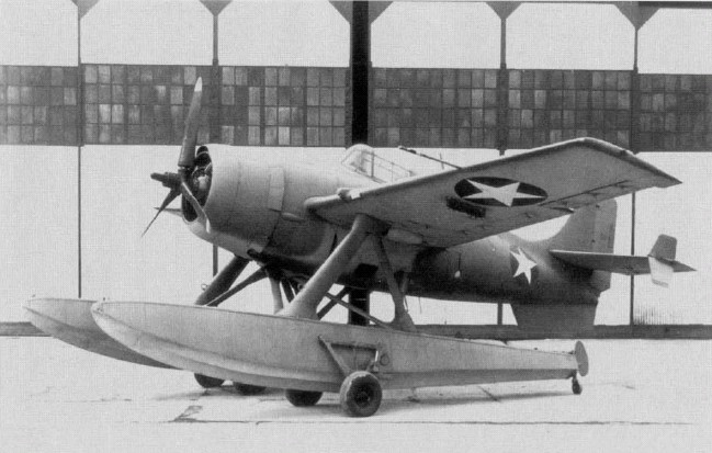 Grumman F4F-3S Wildcatfish. Excellent aircraft for finding U-Boats and bombing them into oblivion. But, as a single seater, not quite so useful for romantic evening flights up the coast.