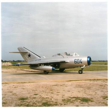 The MiG 15UTi offered by GlobalPlaneSearch.com