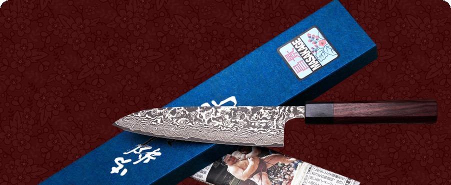 Kumo style knife by Masakage.