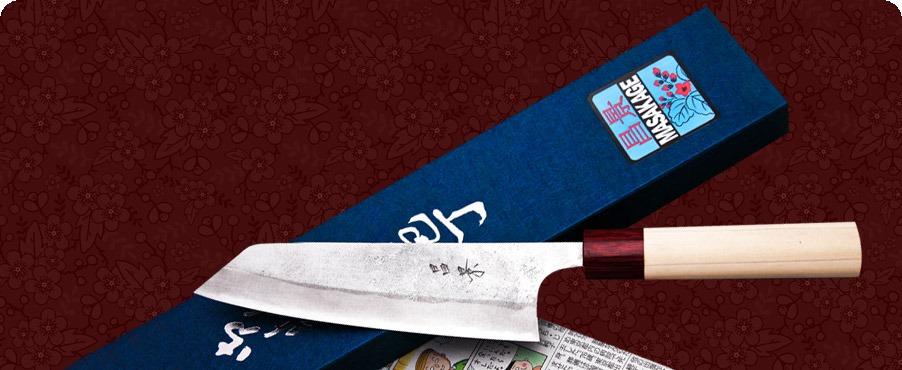 Yuki style knife by Masakage.