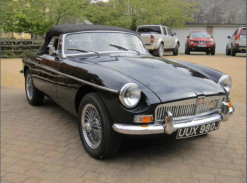 1971-2010 MGB 4.6-Litre V8 Roadster 2