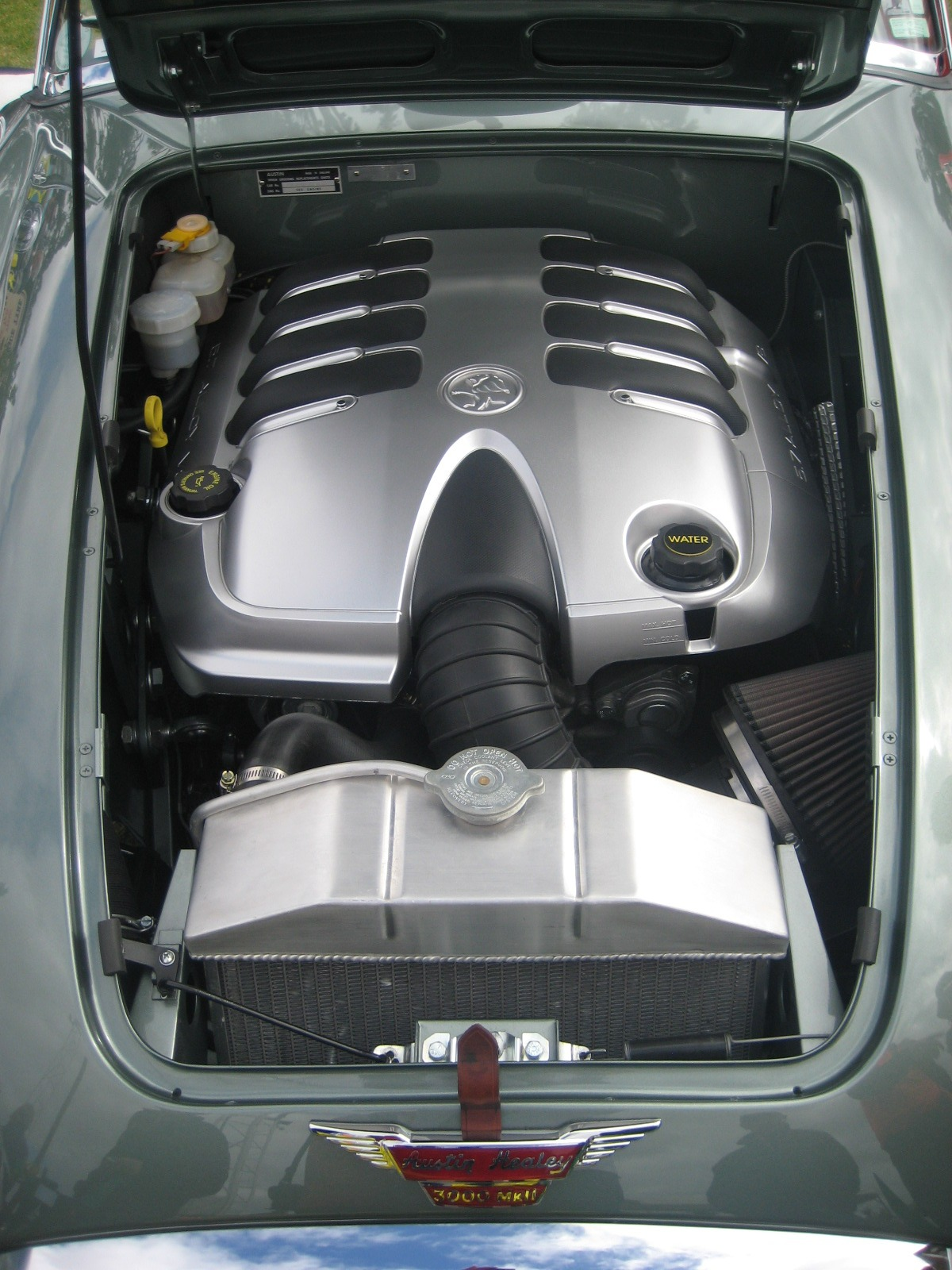 The 5.7 Liter Holden LS1 V8 just seems to fit perfectly.