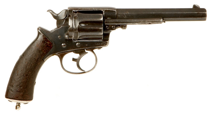 Zulu War era Tranter double action revolver. (Picture courtesy of collectorsfirearms.com).