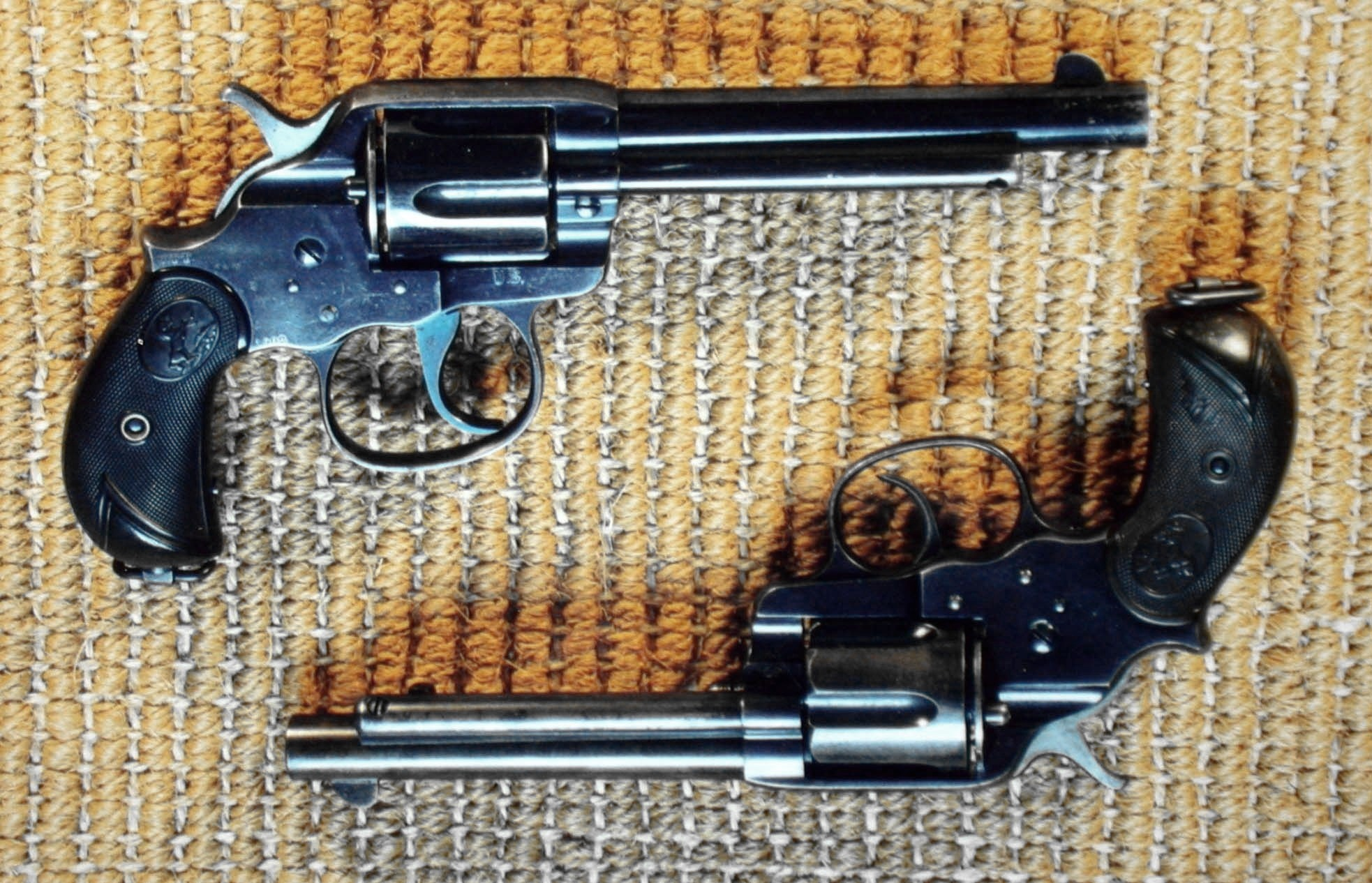 Colt 1878 revolver which was made in larger calibers including the British .476 Eley and 455 Webley.