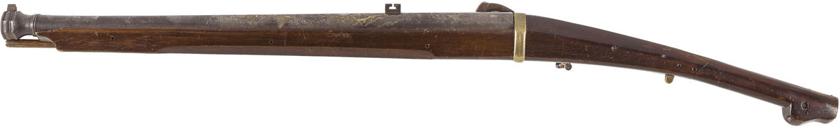 "The second matchlock for auction by Bonhams by Tanaka Yasubei Kazurei, Edo period (19th century) and signed ""Tetsudo niju maki haru Sessenju Tanaka Yasubei Kazurei saku"". Also 17mm or .67 caliber."