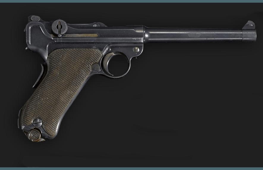 A DWM Model 1904 Navy parabellum pistol