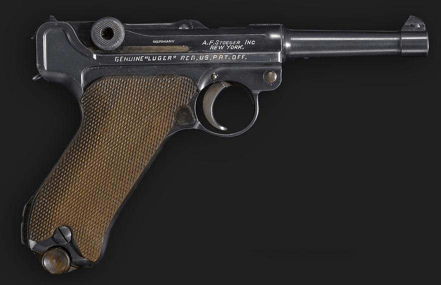Krieghoff 36 date parabellum pistol