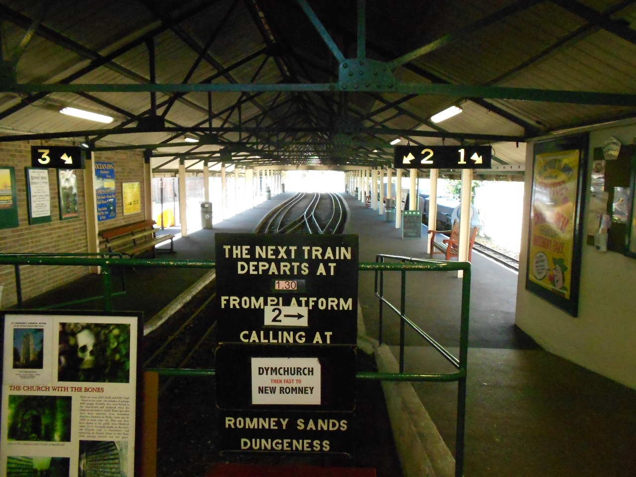 Hythe Station. Where your journey into the Romney Marshes begins.
