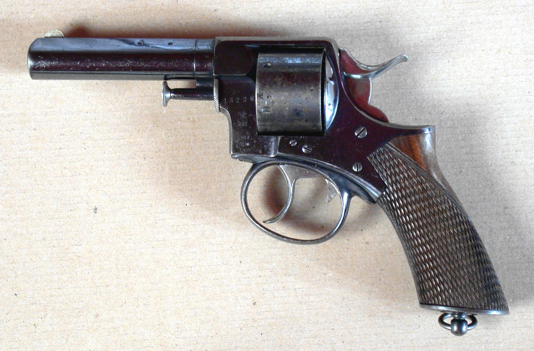 "The Webley R.I.C. or ""Royal Irish Constabulary"" revolver of the sort Sherlock Holmes is reputed to have carried."