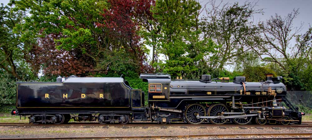 Doctor Syn. Named after the fictional Romney Marsh smuggler of Russell Thorndyke's novels. (Picture courtesy of rhdr.org.uk).