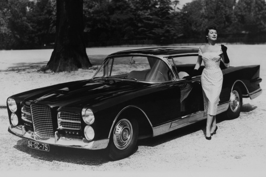 The Facel Vega Excellence as presented at the Paris Motor Show in 1957.
