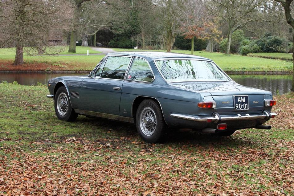 The gorgeous sixties Vignale styling stands out as a work of automotive art even fifty years after its creation.