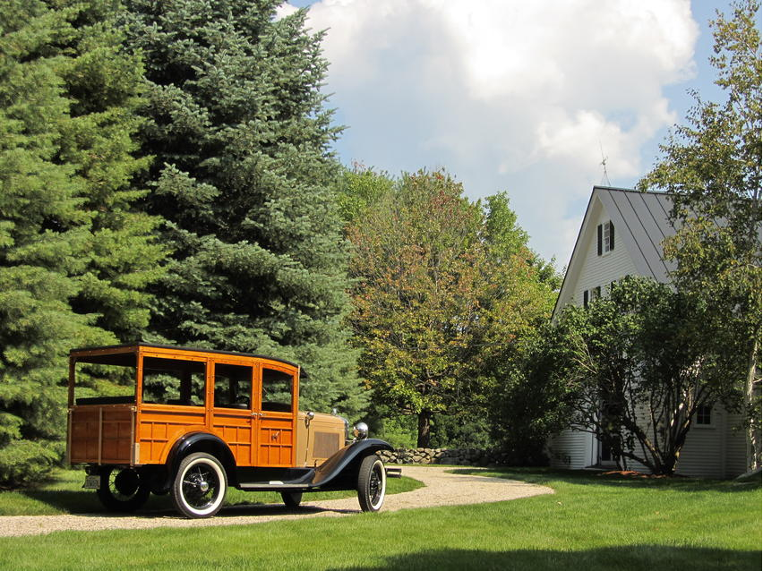 1930 Ford Model A Wagon 4