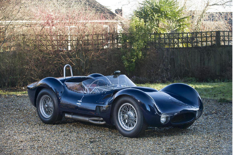 The re-creation Maserati Tipo 60/61 coming up for sale by Bonhams at the 2015 Goodwood 73rd Members Meeting.