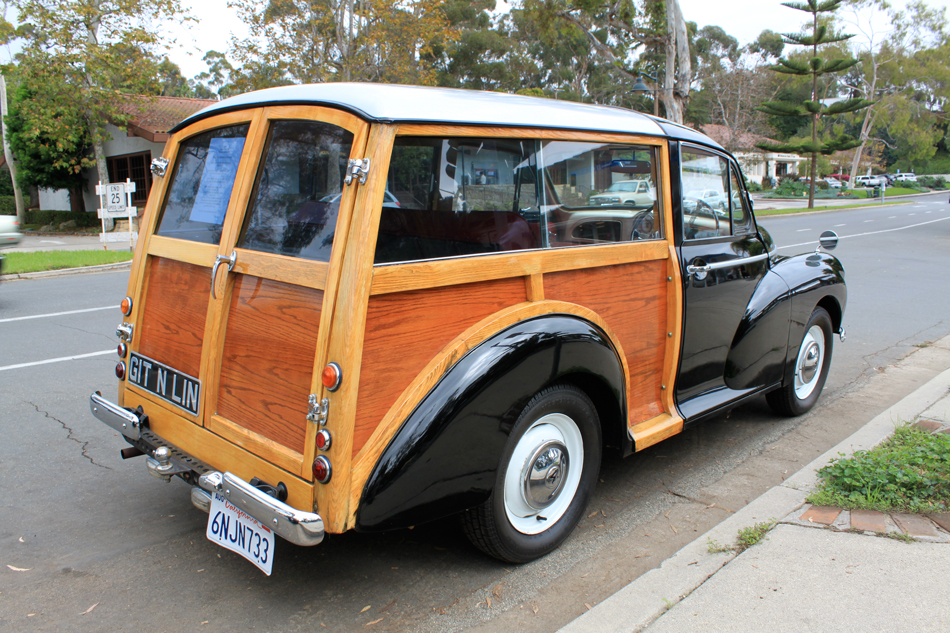 "A Morris Minor Station Wagon ""Woody"". Ideal for trips to the ""surf"" in Britain and New Zealand. (Picture courtesy manonthemove.com)"