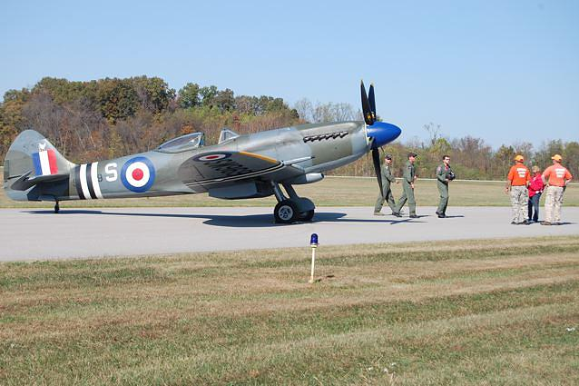 Mark XVIII Spitfire. There are no speed limits in the sky.