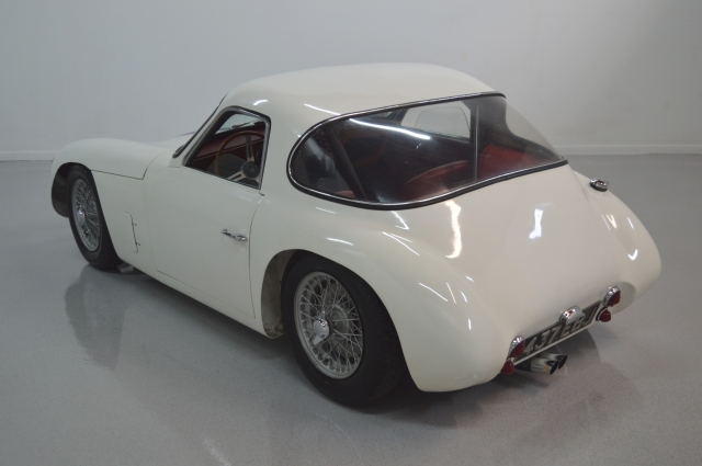 "The TVR Jomar MkII coupe has clean simple lines that accentuate its ""no frills"" appearance."