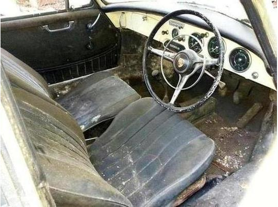 The seats are described as saveable although I think the condition of this car is likely to require replacement to produce a truly satisfactory end result.