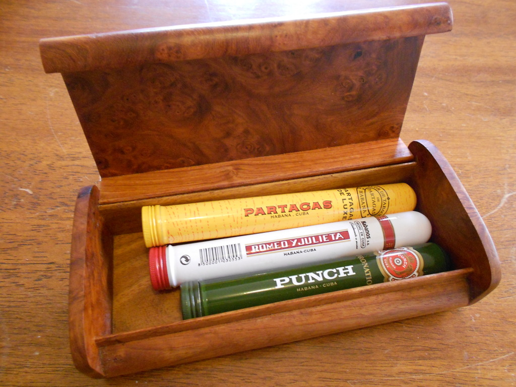 The more commonly available Cuban brands; Partagas, Romeo Y Julietta and Punch.