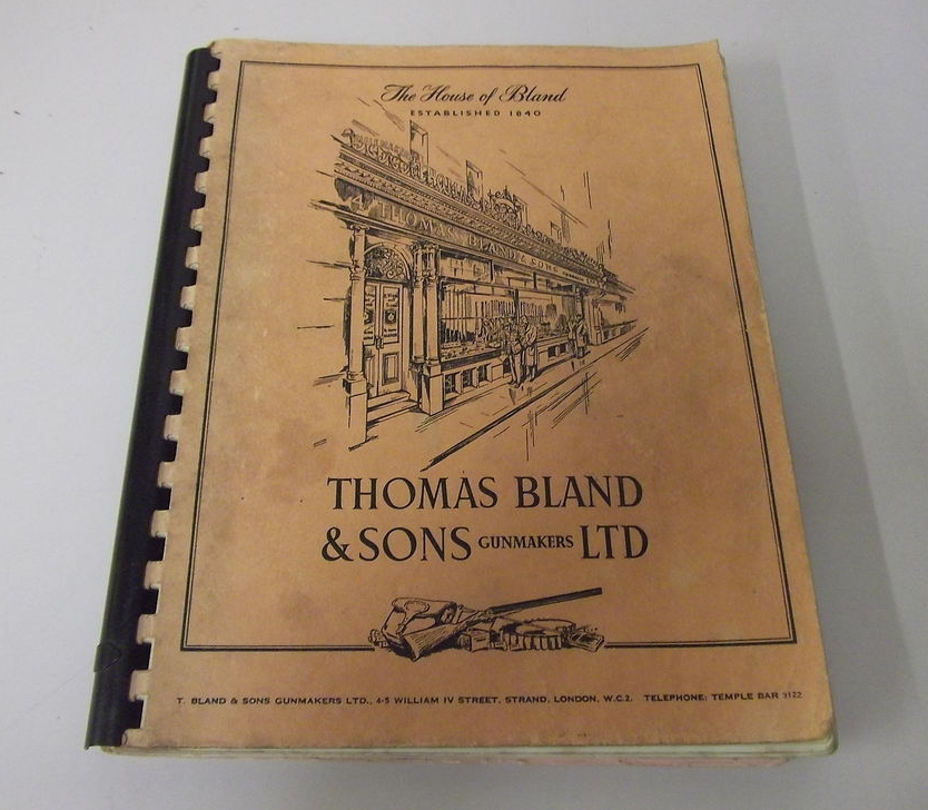 Bland's catalog of the early sixties.
