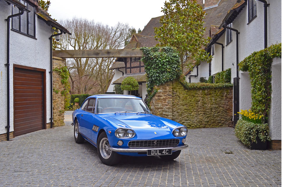 John Lennon's earlier model 330 GT 2+2 as auctioned in 2013. (Picture courtesy of Bonhams).