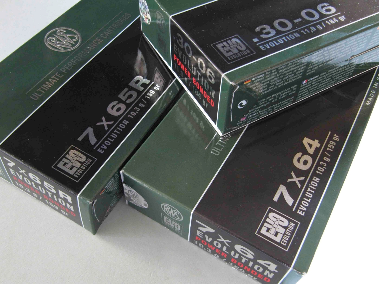 Ammunition for the 7x64 Brenneke and the 7x65 are also available from RWS.