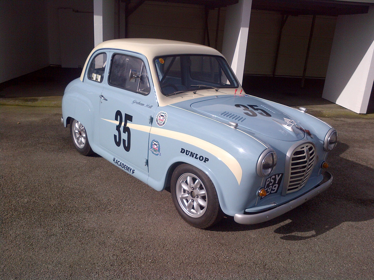 The Austin A35 and the British Lemming-HRDC-A35-Racing