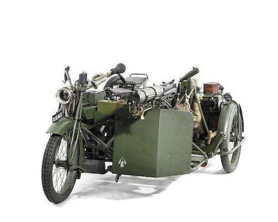 1916-17 Matchless-Vickers 8B2-M Russian Military Motorcycle Combination3
