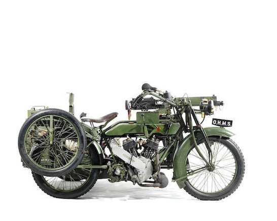 1916-17 Matchless-Vickers 8B2-M Russian Military Motorcycle Combination5