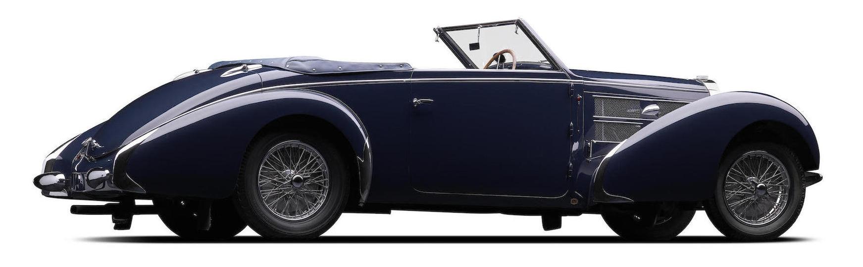 1938 Bugatti Type 57C Convertible-1
