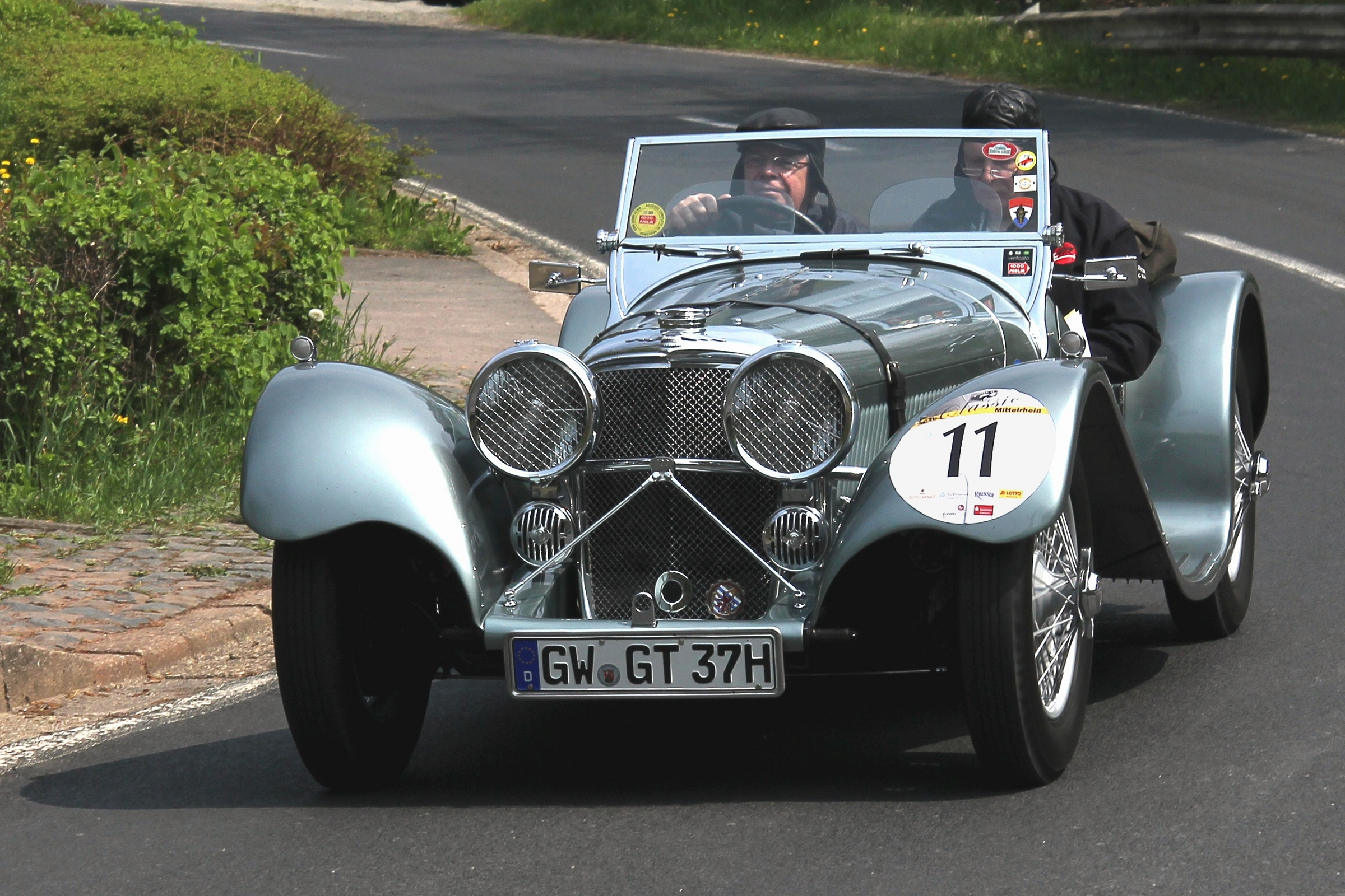 An example of a fully restored SS100. An idea of what the completed restoration project will look like. (Picture courtesy of Wikipedia).