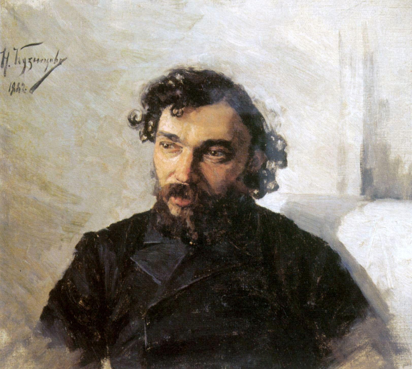 Portrait of Artist Ivan Pokhitonov_by_Nikolaï Kouznetsov