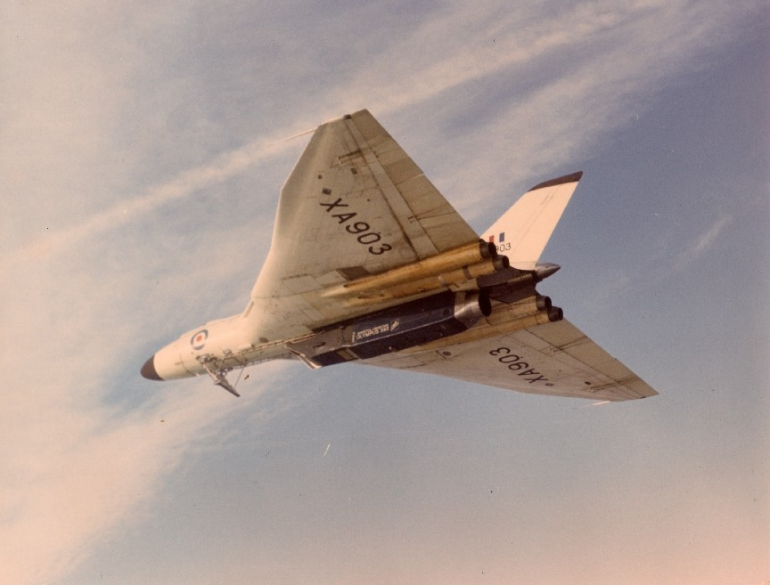The Concorde's engine was flight tested by being fitted to a Vulcan bomber.