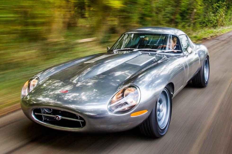Jaguar e type low drag