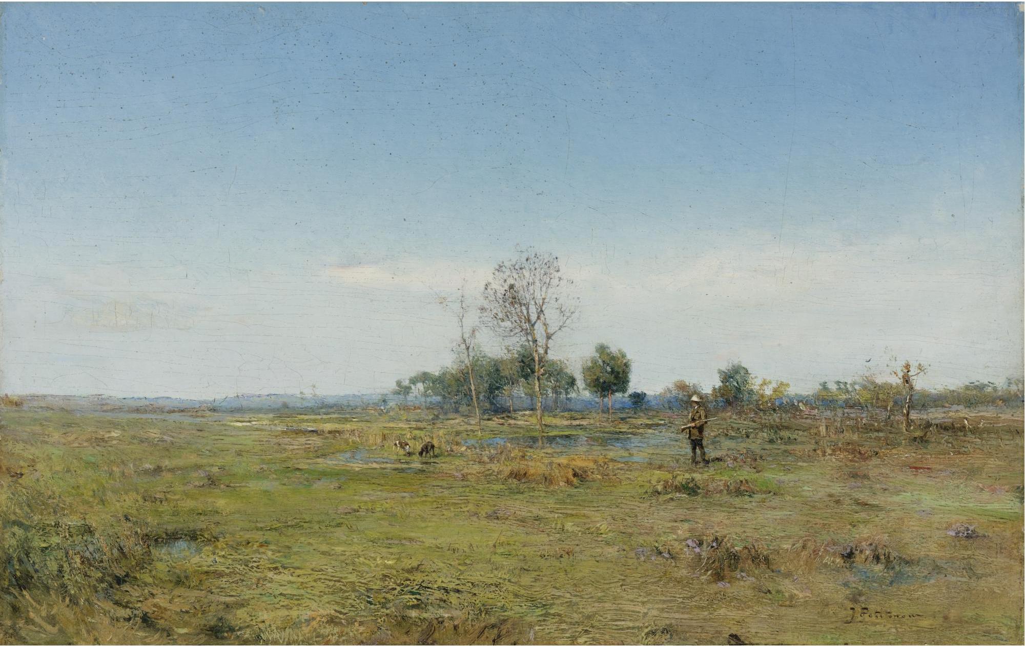 The Hunter by Ivan Pavlovich Pokhitonov