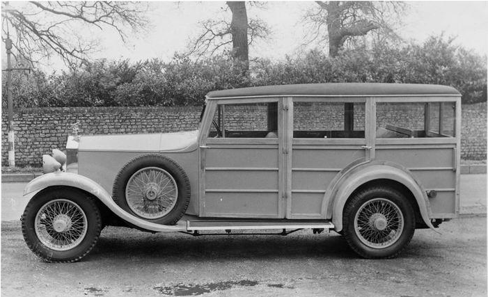 1929 Rolls-Royce 20-25hp 'Woodie' Estate Car 1