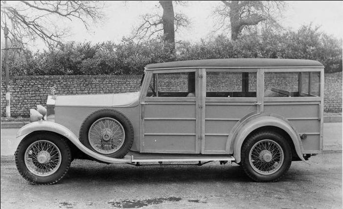 1929 Rolls-Royce 20-25hp 'Woodie' Estate Car 1
