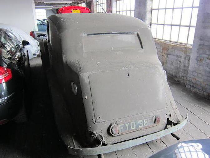 1939 Lagonda V12 Sedanca De Ville - Barn Find 4
