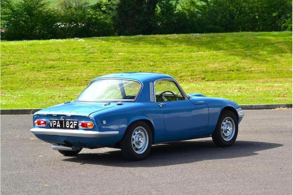 1968 Lotus Elan S3 Coupe 7