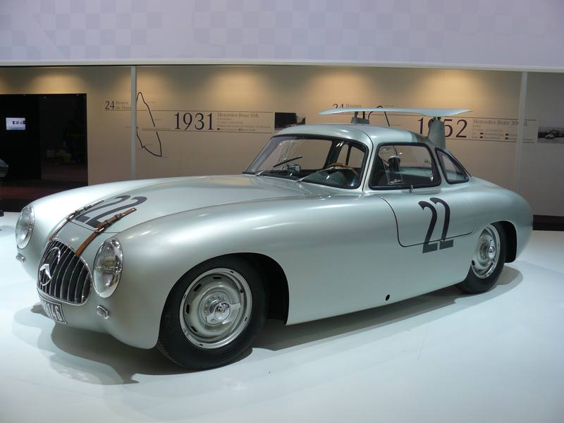 The Mercedes-Benz W194 from which the 300 SL is derived.