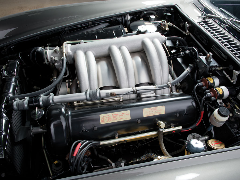 The more powerful NSL engine was fitted to the roadster as standard equipment. (Courtesy RM).