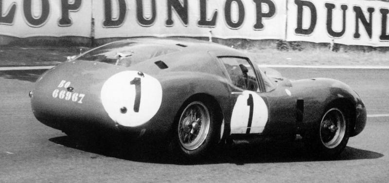 The Maserati 450S Costin Zagato Coupé at Le Mans in 1957