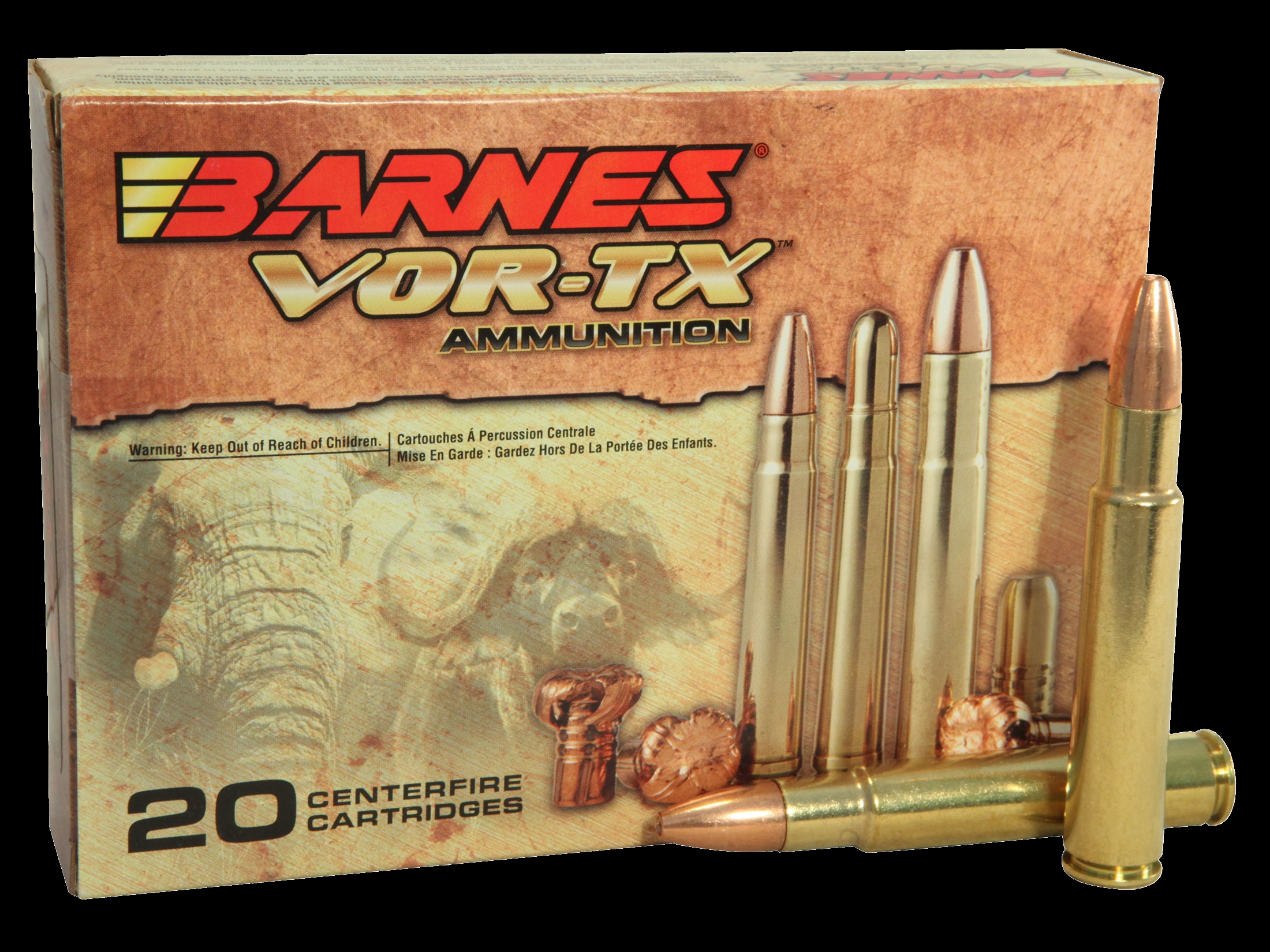 Factory ammunition from Barnes. (Picture courtesy midwayusa.com)