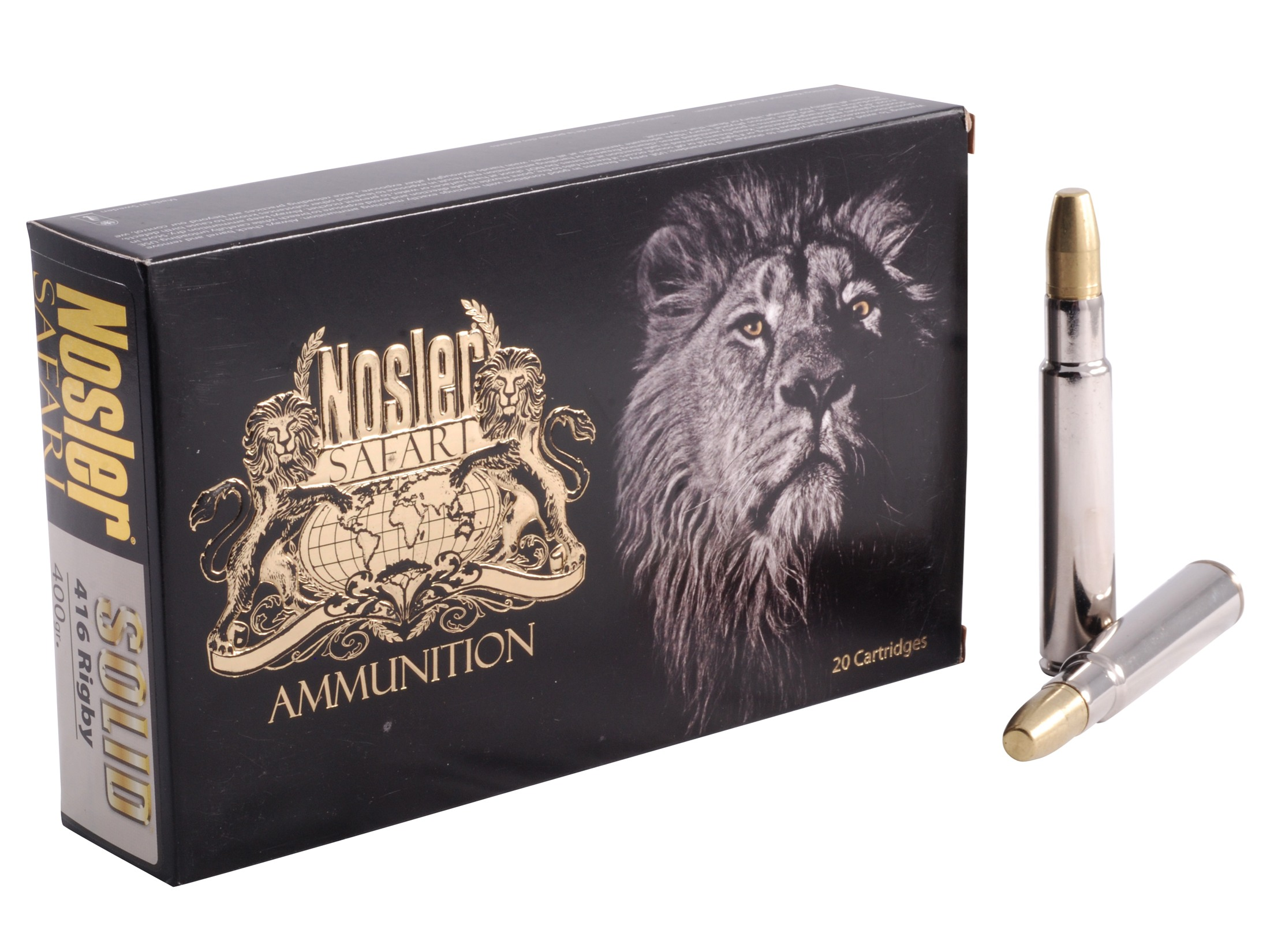 Factory ammunition from Nosler. (Picture courtesy of midwayusa.com)