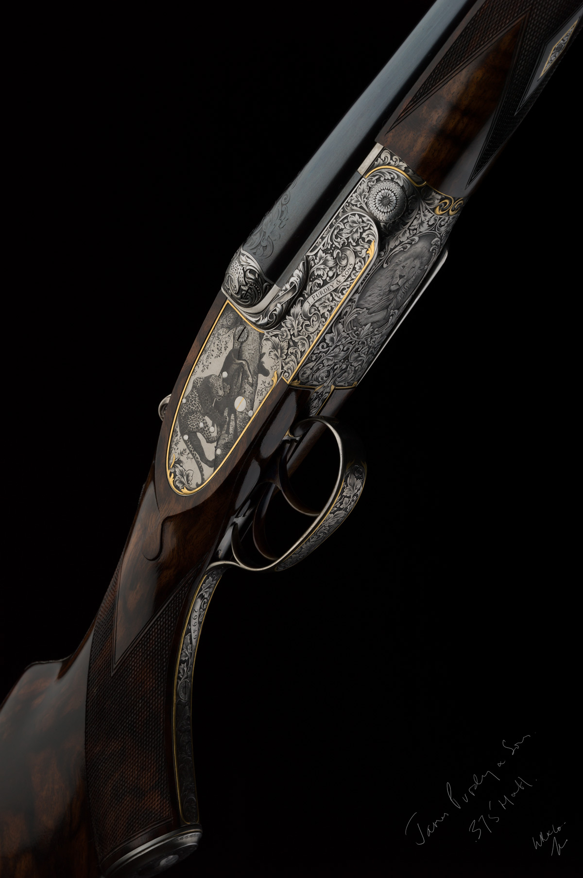 A Purdey self-opening double rifle in 375 Holland & Holland Magnum. The British gunmaker's art exemplified. (Picture courtesy of theexplora.com).
