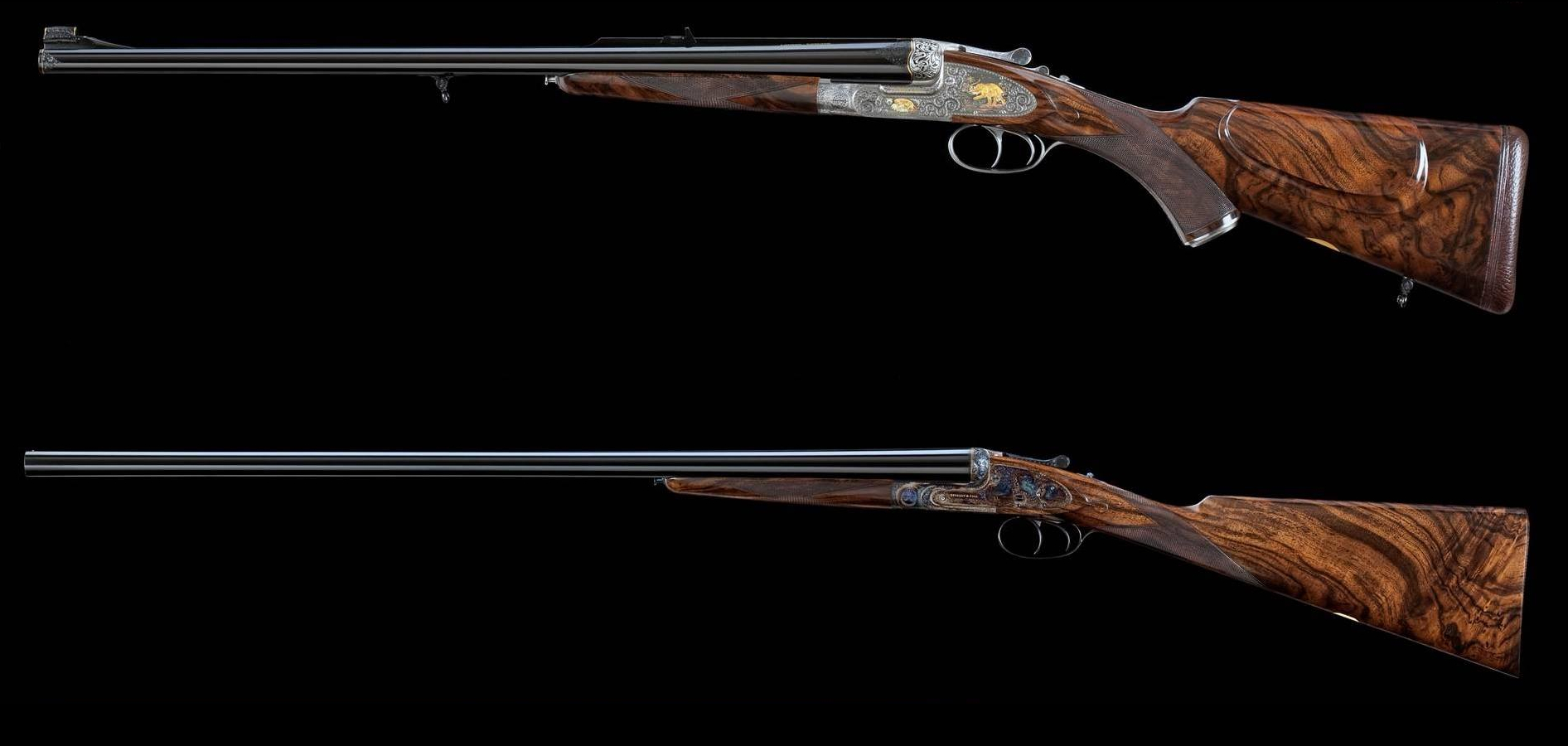 "The Purdey ""Self Opening"" Double Rifle and Gun-rifle_and_gun"