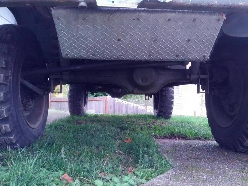 There not much of anything the Unimog's ground clearance can't handle.