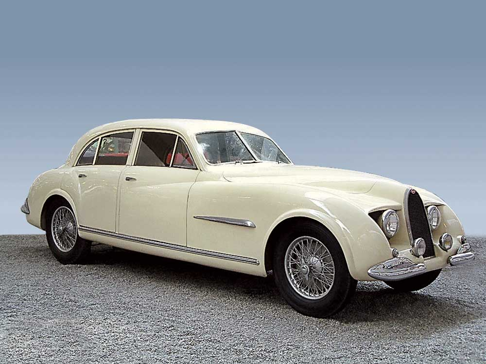 Chassis 101500 Guillore 4-door saloon of 1952. (Picture courtesy of onlytruecars.com)